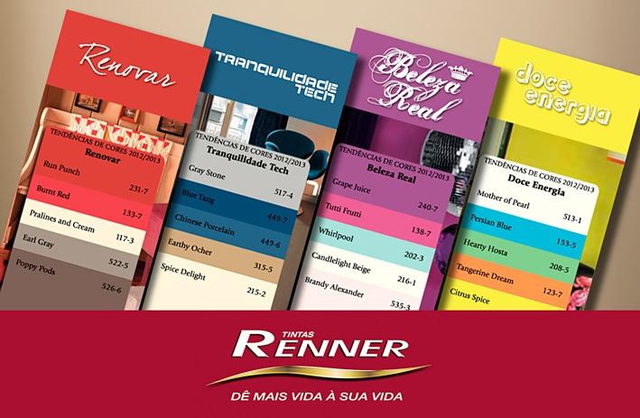 TINTAS RENNER CATALOGO DE CORES 2017 - 2018