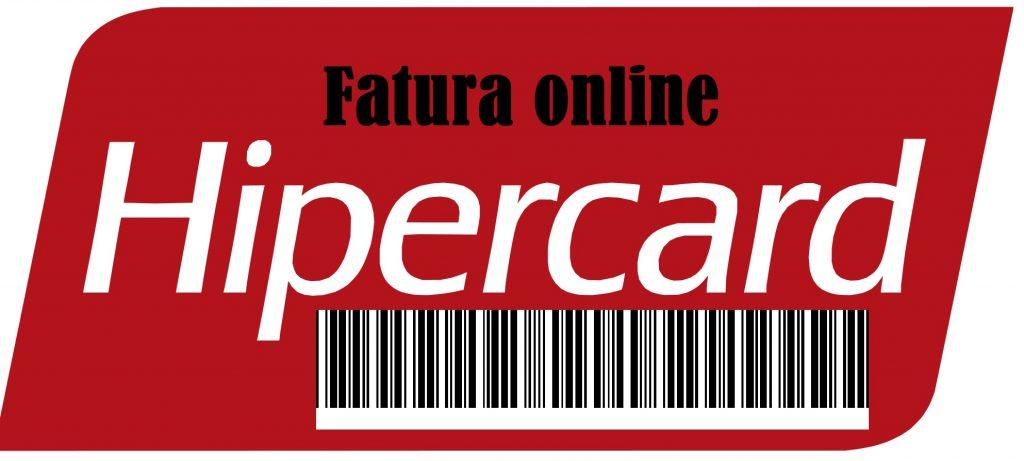 hipercard fatura 2 via ONLINE