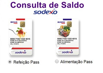 SODEXO SALDO E EXTRATO