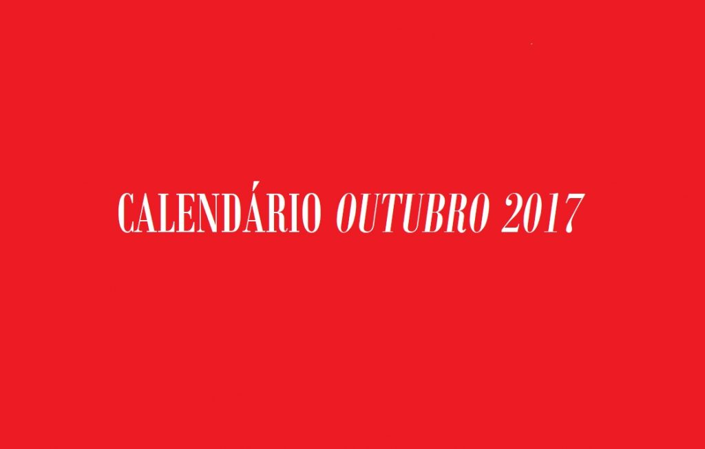 CALENDARIO 2017 OUTUBRO