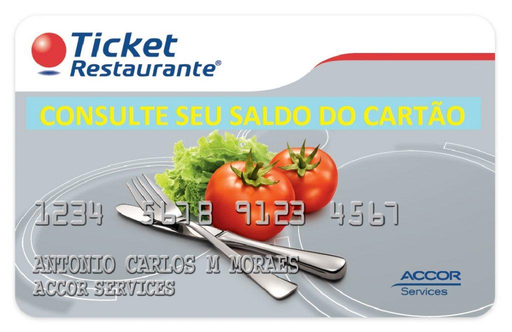 TICKET ALIMENTAÇÃO SALDO
