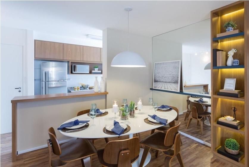salas de jantar decoradas e modernas