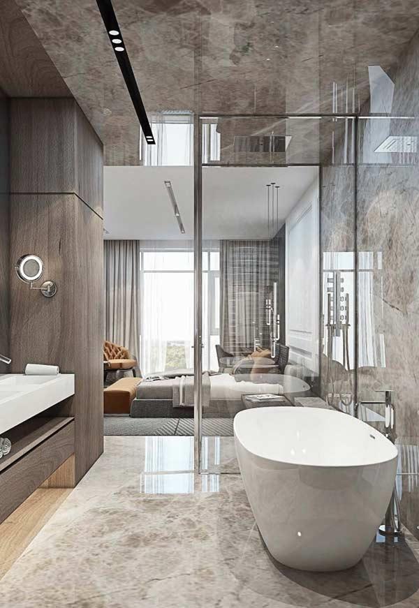 piso para banheiro 2018 - 2019 porcelanato