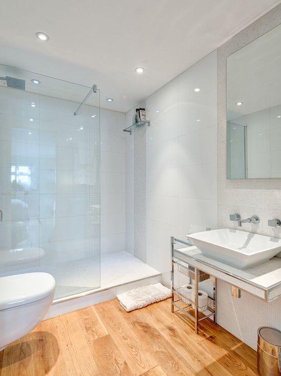 piso para banheiro madeira porcelanato
