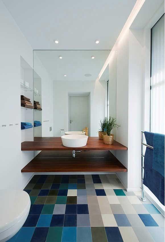 pisos de banheiro bonitos