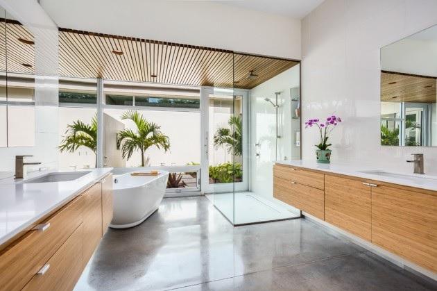 pisos para banheiro de luxo