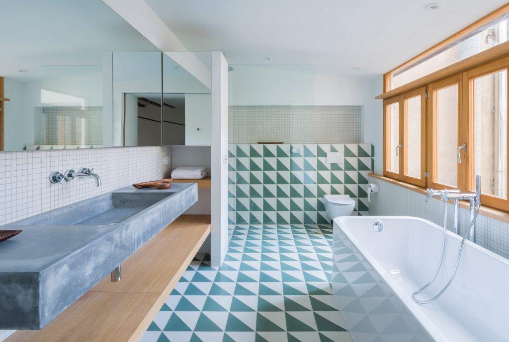 pisos para banheiros grandes 2018 - 2019