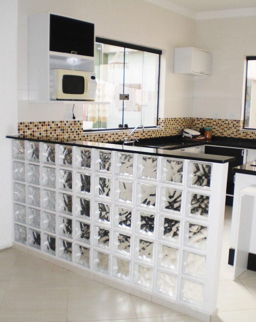tijolos de video cozinha