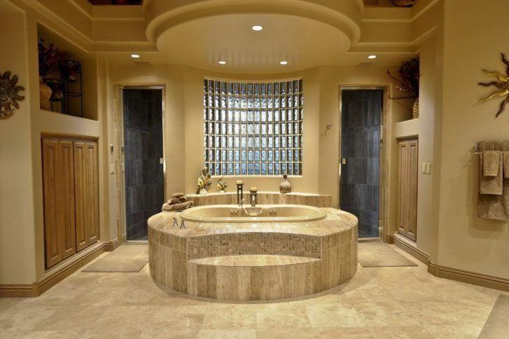 tijolos de vidro na parede banheiro
