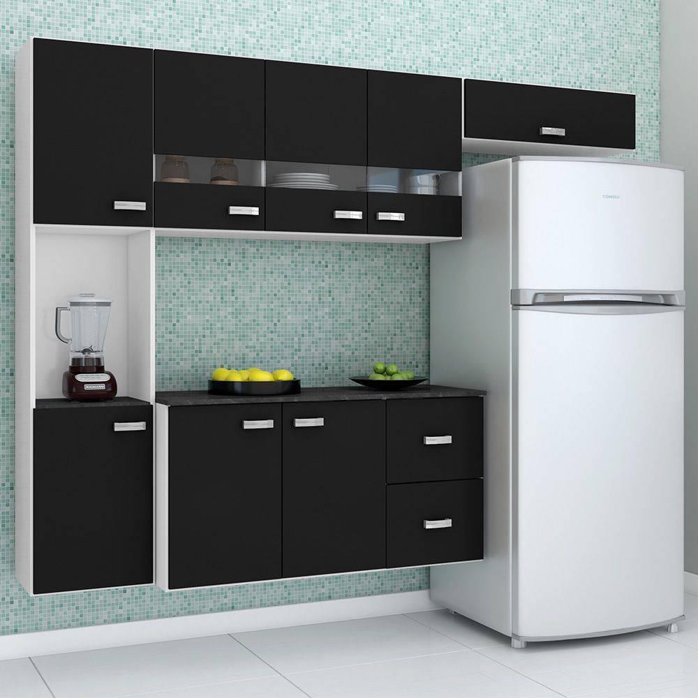 armario de cozinha pequeno americanas