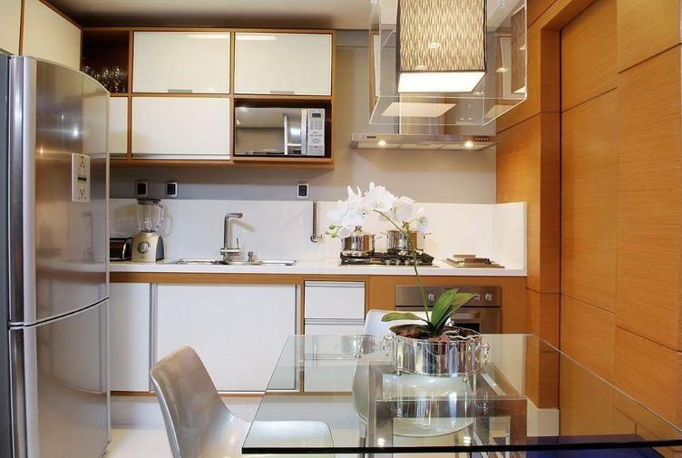 armario de cozinha pequeno planejado