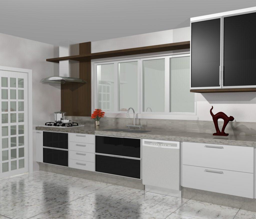 armario de cozinha planejado 2018 - 2019