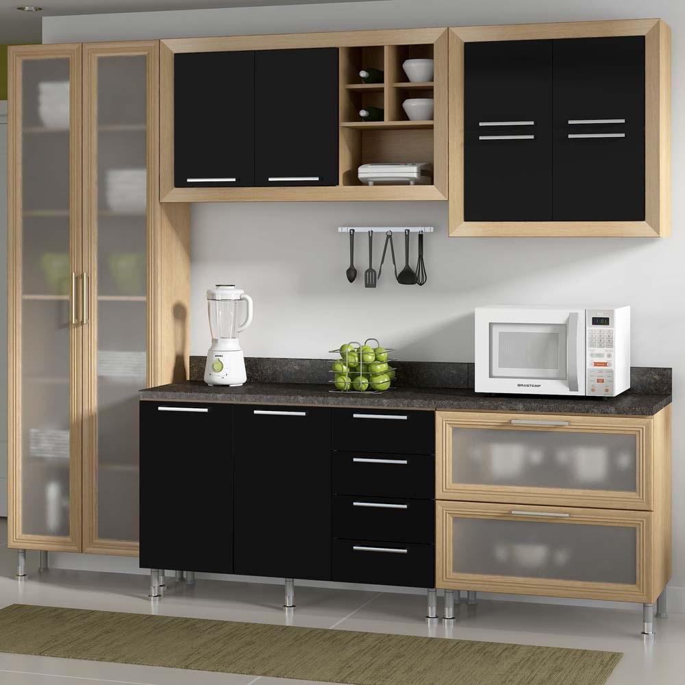 armario de cozinha simples e pequeno