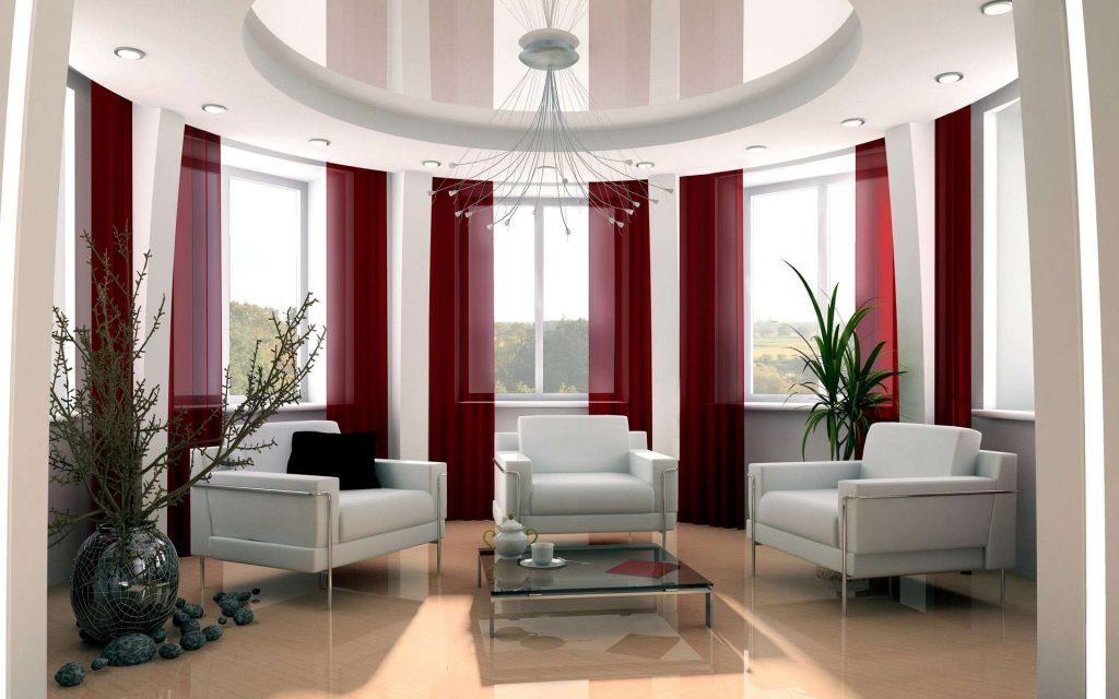 42 ideias de cortinas para sala de estar e jantar 2018 2019 for Ganchos para cortinas de tela