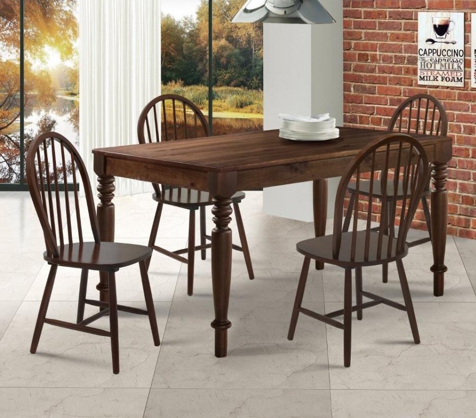 mesa de jantar de madeira 4 lugares