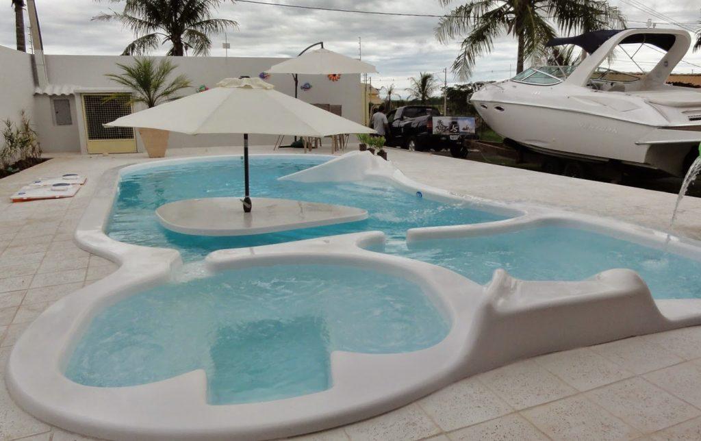 piscina de fibra adulto e infantil a venda