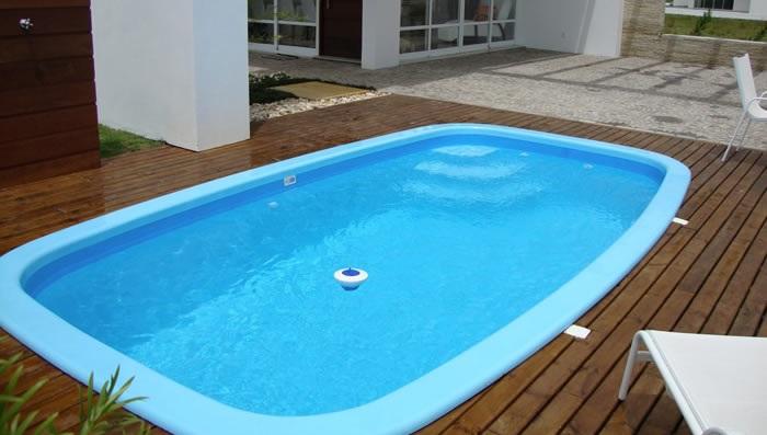 piscina de fibra pequena tamanhos