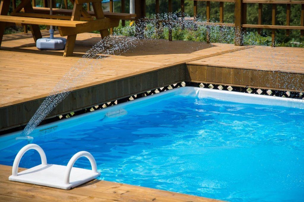 piscina de fibra preço quadrada