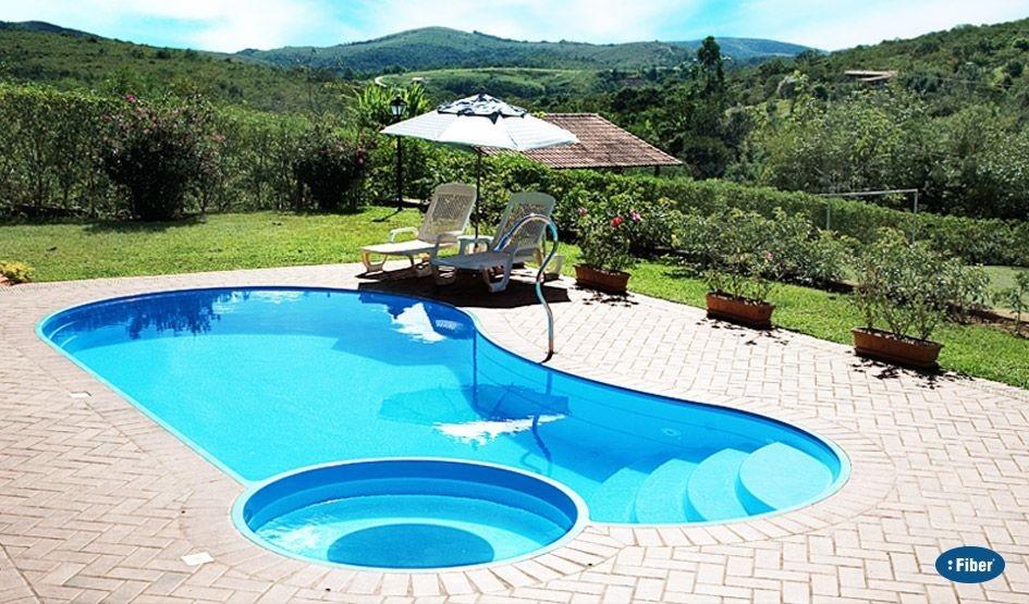 piscina fibra pequena