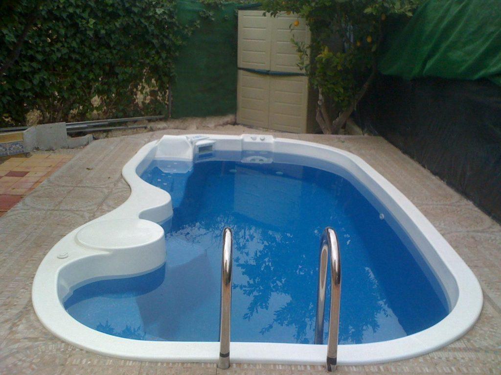 piscinas fibra pequena