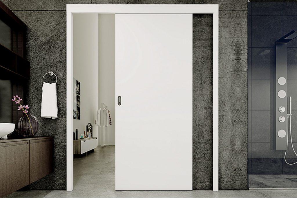 porta de correr para bannheiro