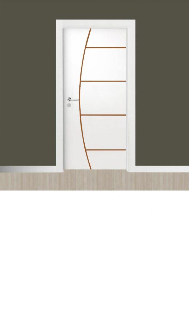 portas de madeira simples