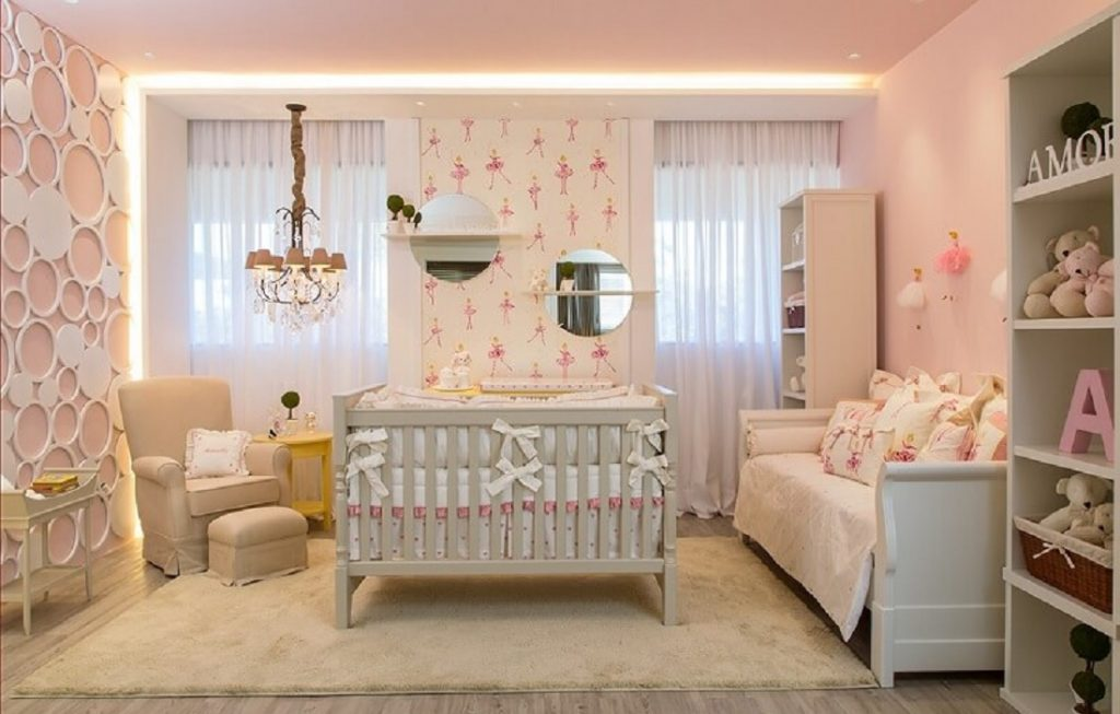quarto de bebe decorado moderno 2018 - 2019