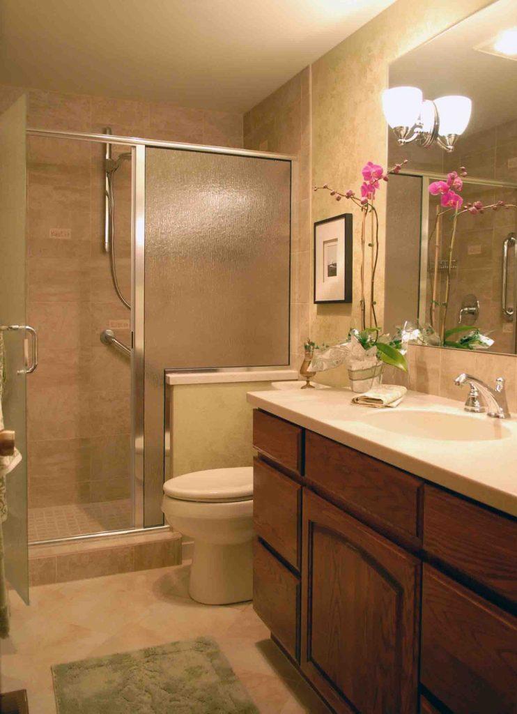 banheiro decorado pequeno