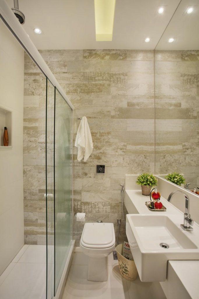 banheiro pequeno decorado bonito