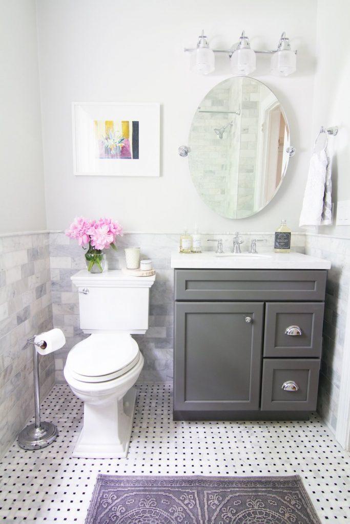 banheiro pequeno e bonito simples