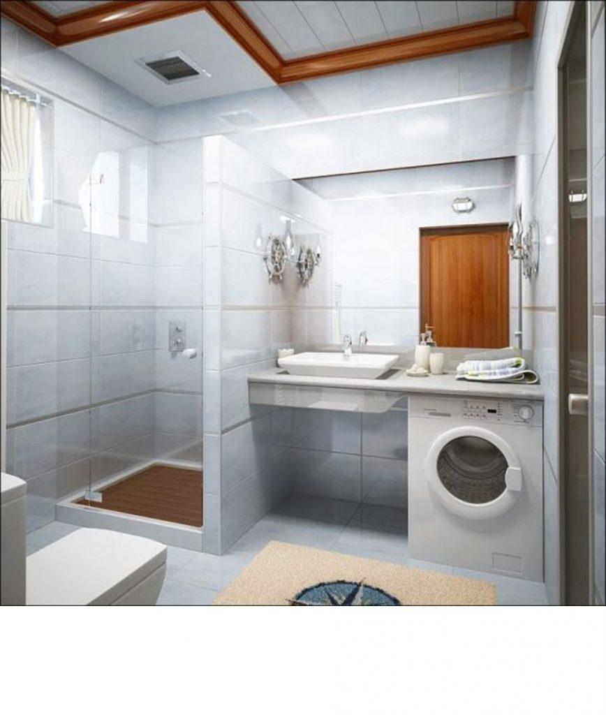 banheiro pequeno simples e bonito para apartamento