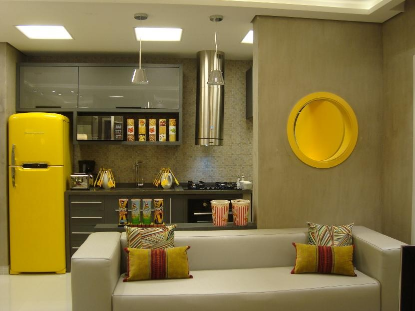 cozinha planejada americana