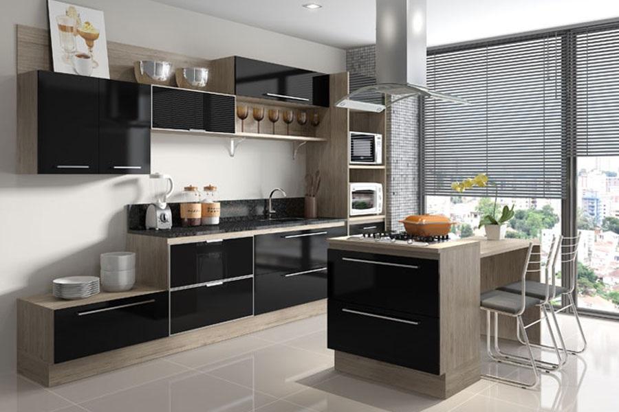 cozinha planejada com ilha fotos