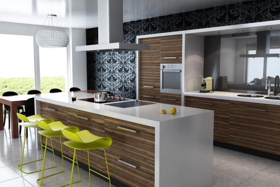 cozinha planejada moderna e luxuosa