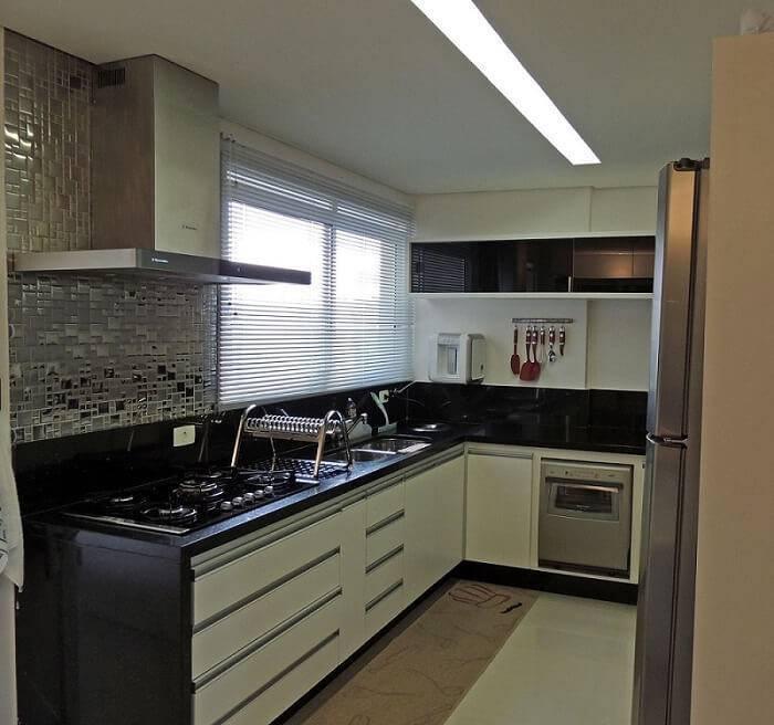 cozinha planejada pequena e moderna 2019