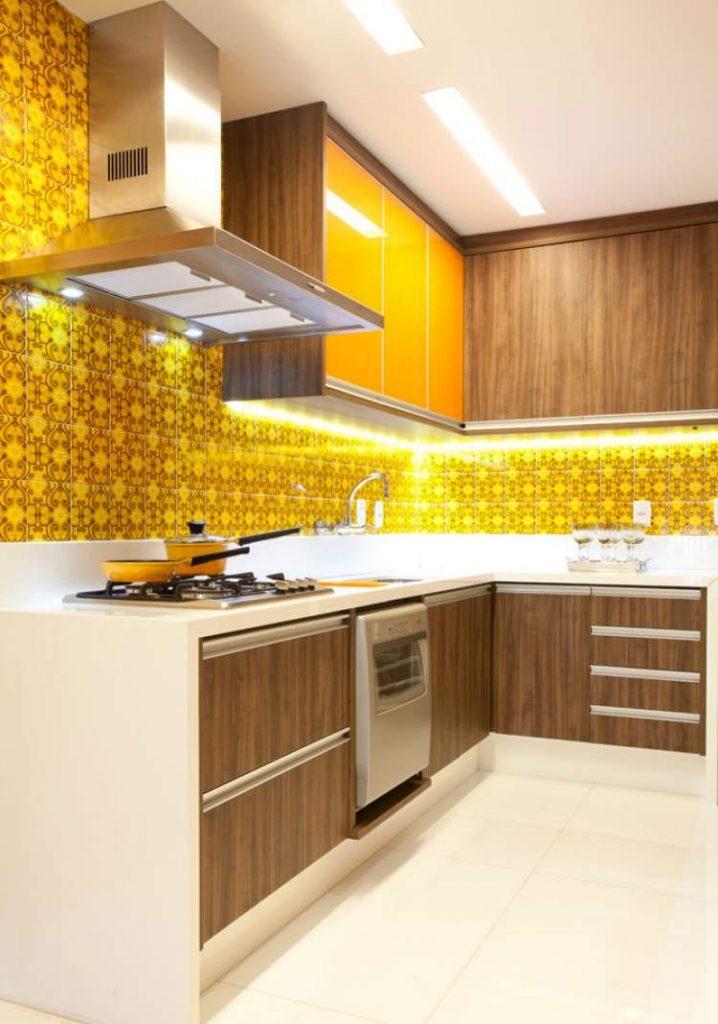 cozinha planejada simples e bonita