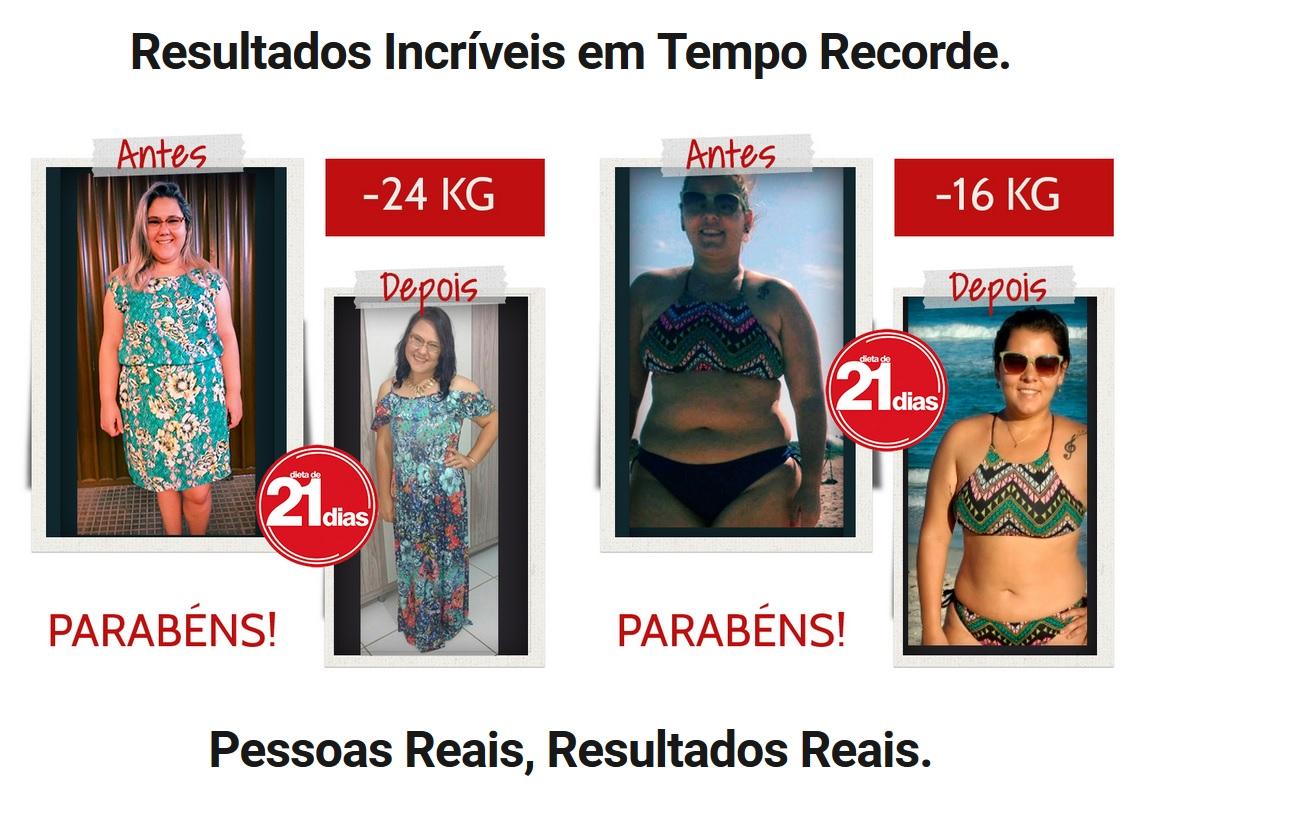 dieta 21 dias antes e depois casos reais