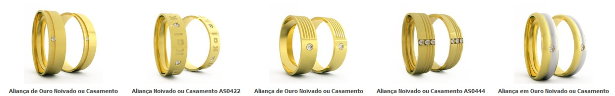 ALIANÇAS DE CASAMENTO - CASA DAS ALIANÇAS