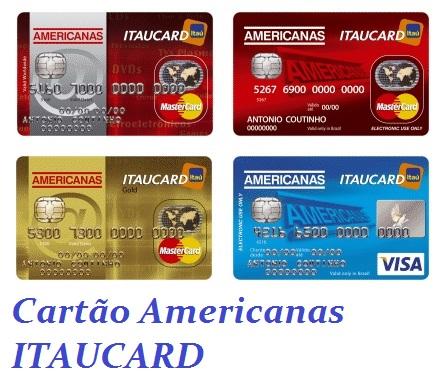 CARTÃO AMERICANAS ITAU MASTERCARD