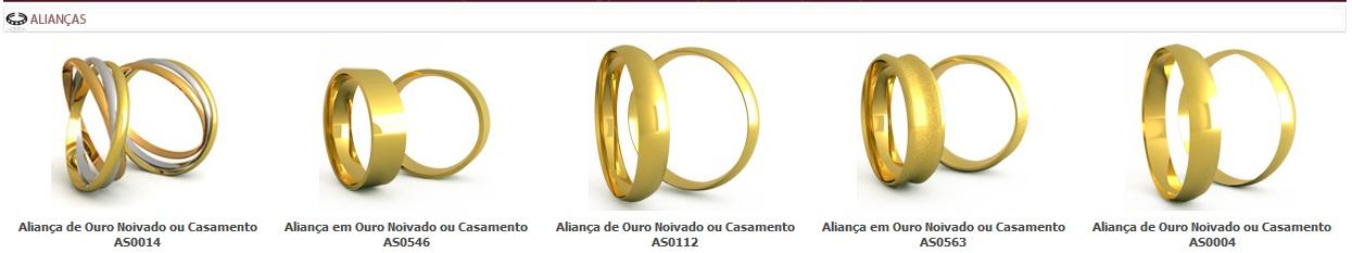 CASAS DAS ALIANÇAS DE NOIVADO E CASAMENTO