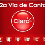 CLARO 2 VIA CONTA CELULAR PARA PAGAMENTO – www.claro.com.br