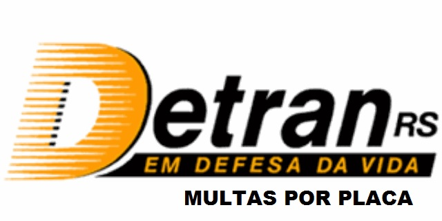 Detran RS Multas por placa