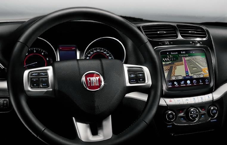 Fiat Freemont 2013 - 2013 interior painel de instrumentos com gps