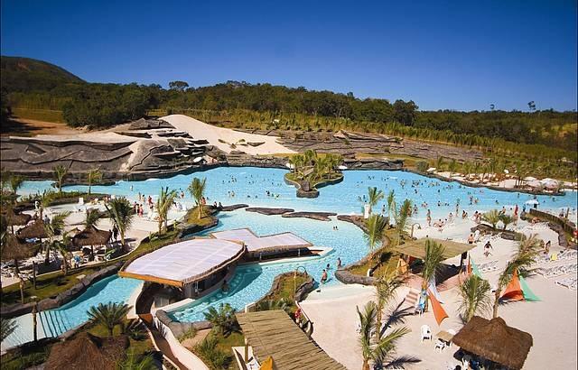 Rio Quente resorts caldas novas