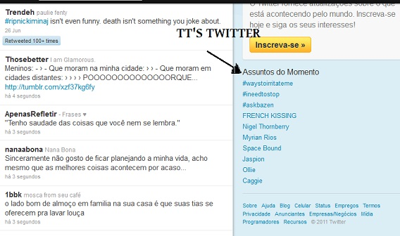 TTS BRASIL TWITTER