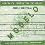 TITULO DE ELEITOR 2 VIA RJ, SP, MG, DF, PR E OUTROS ESTADOS