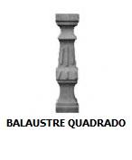 balaustre quadrado