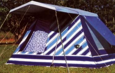 barracas de camping 6 e 8 pessoas