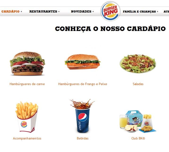burger king precos