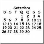 CALENDÁRIO SETEMBRO 2010 FERIADOS E DATAS COMEMORATIVAS